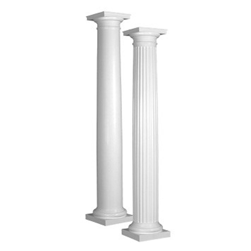 columns; white columns; hd supply home improvement solutions